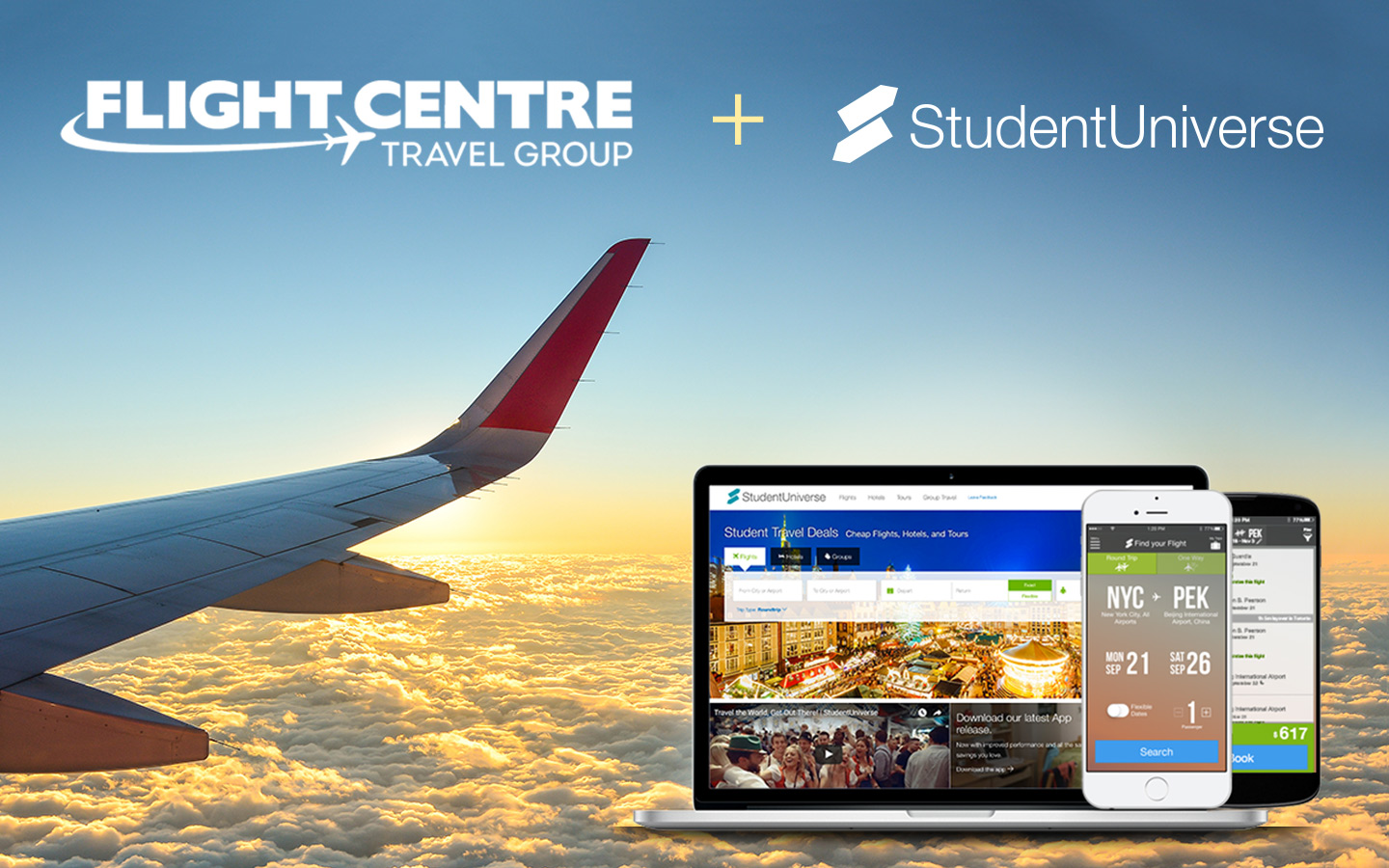 Flight Centre and StudentUniverse