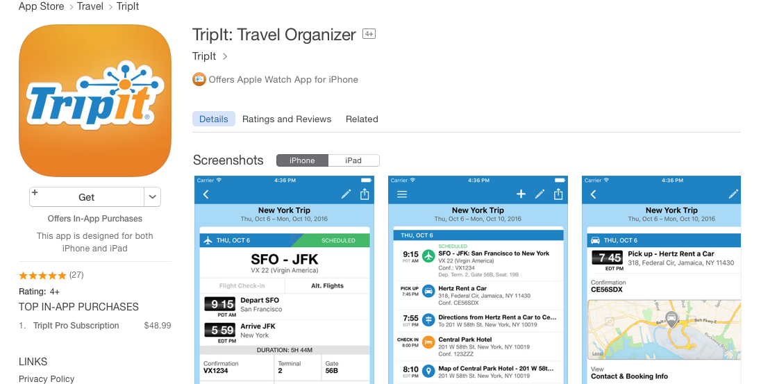 Tripit the travelers agent - Research paper Sample