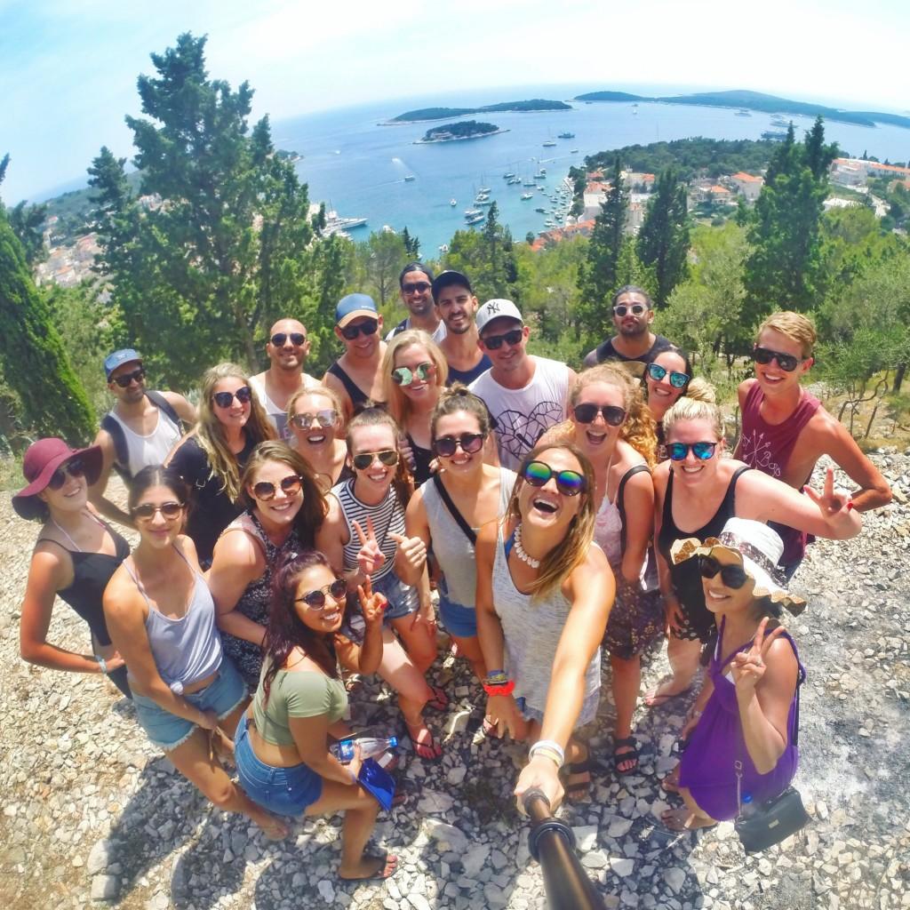 Meeting new friends on a Croatia sailing tour