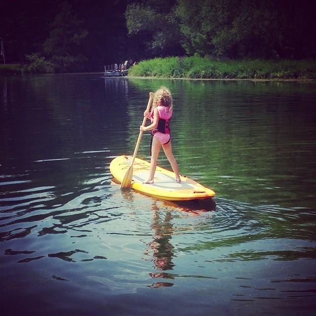 water-paddling